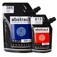 """Акриловая краска Sennelier """"Abstract"""" Белила титановые 500 мл"""
